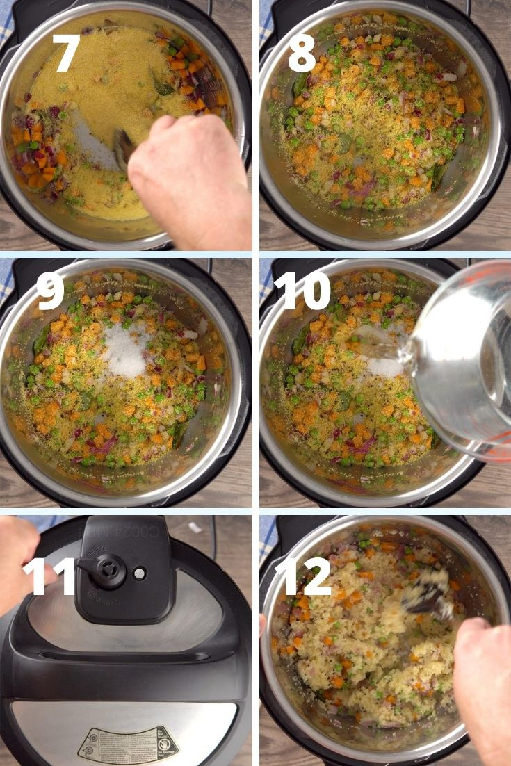 upma step by step instructions