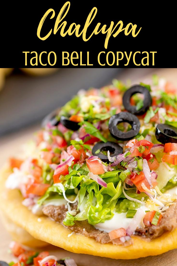 Chalupa Copycat Taco Bell Recipe Video Thebellyrulesthemind