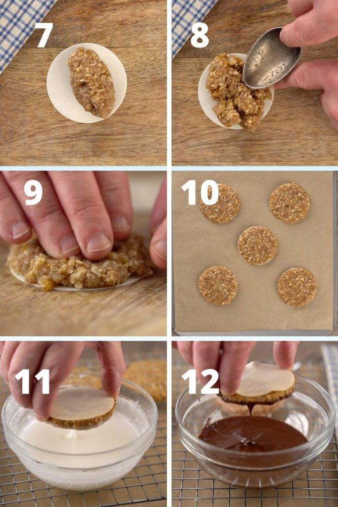 Lebkuchen recipe steps