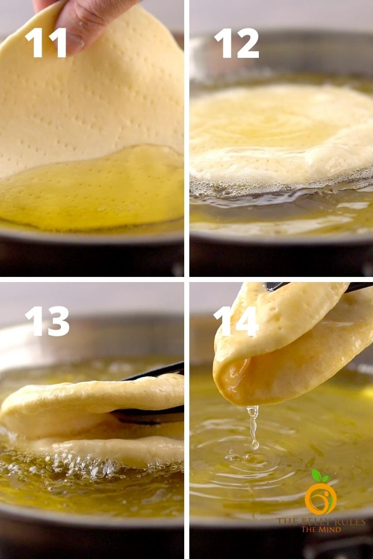 homemade chalupa step by step instructions