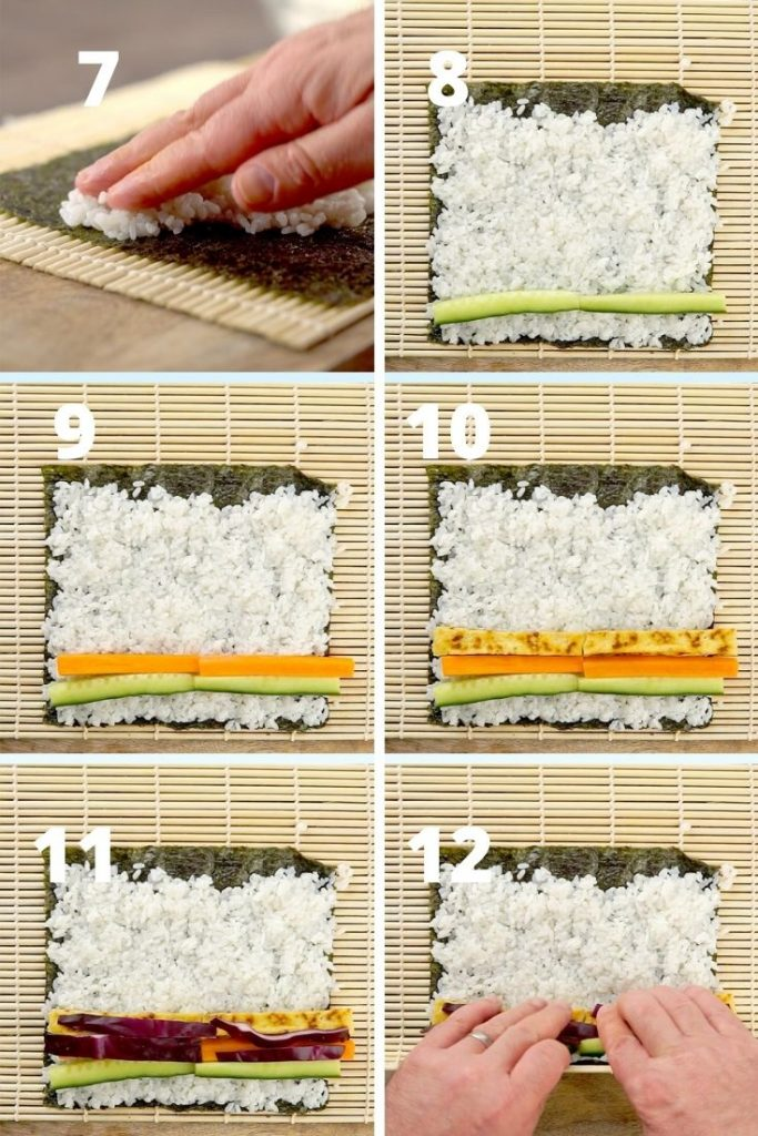 homemade sushi recipe