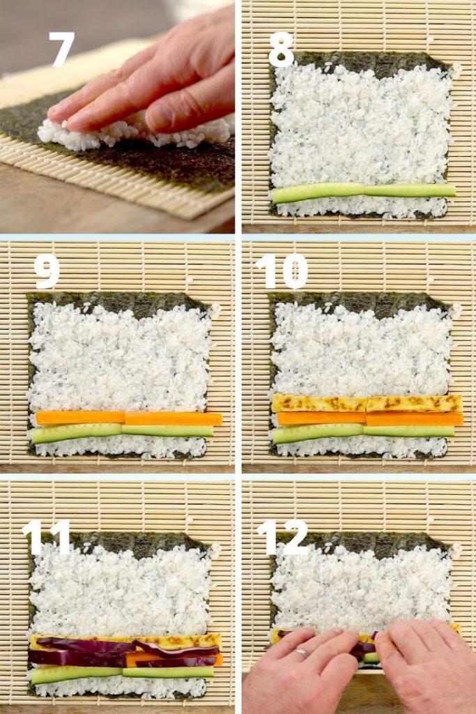 homemade sushi recipe