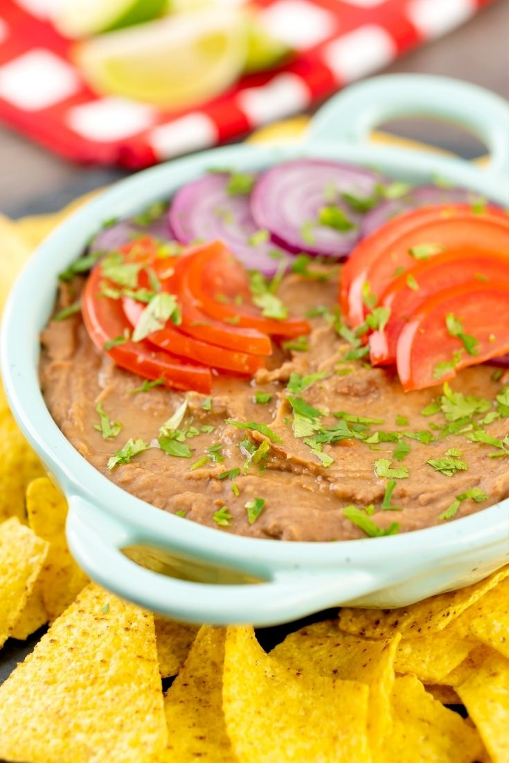 refried beans step by step instructions
