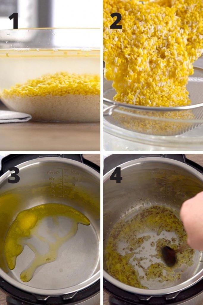 Instant Pot Kitchari Instructions