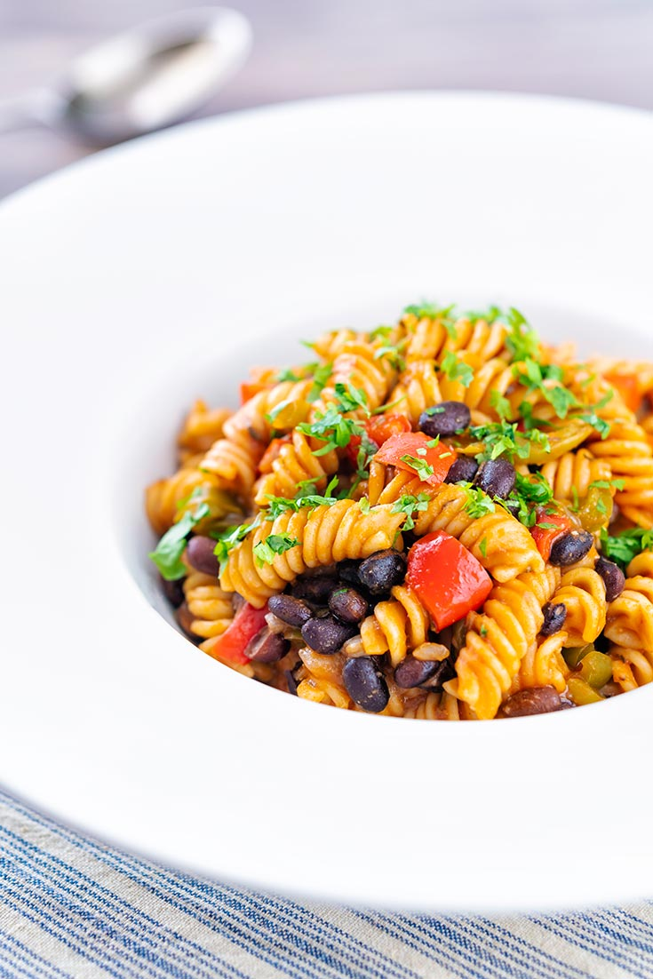 black bean pasta recipe