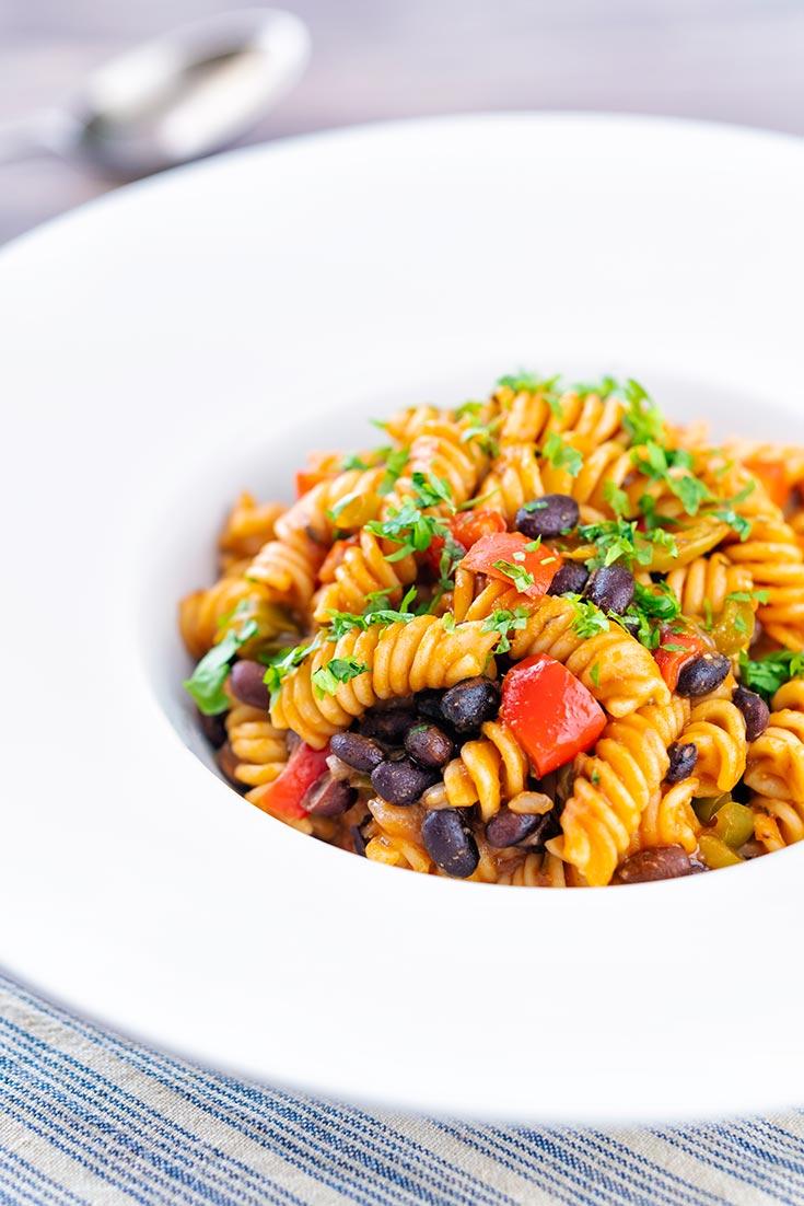 black bean pasta recipe