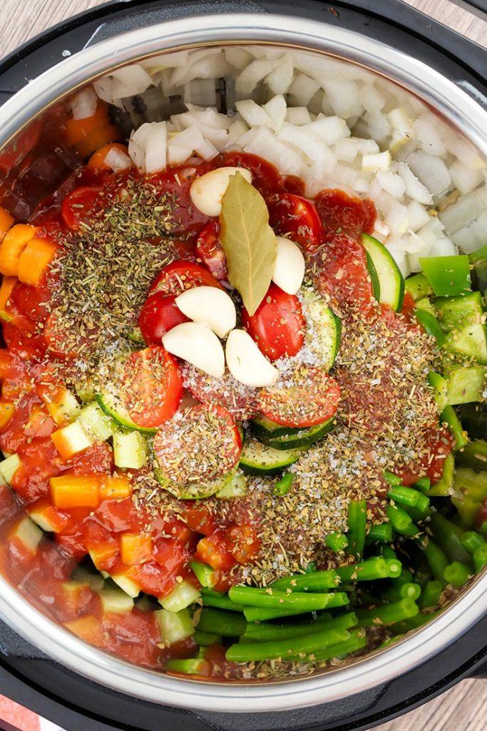 vegetable soup recipe
