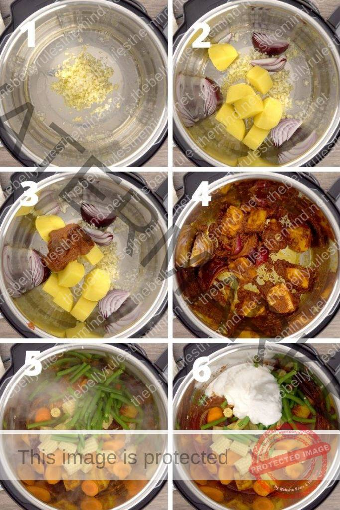 Thai Massaman curry step by step instructions