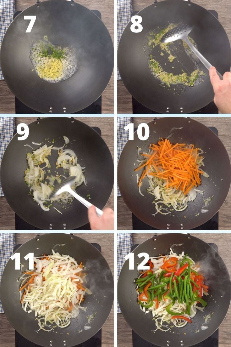 vegetable hakka noodles step by step instructions