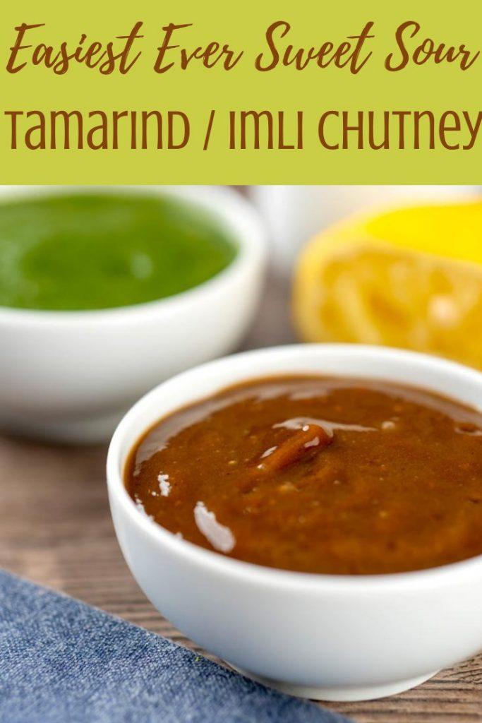 Tamarind Chutney / Imli chutney