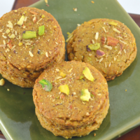 Whole Wheat Pistachio Cookies with Oats