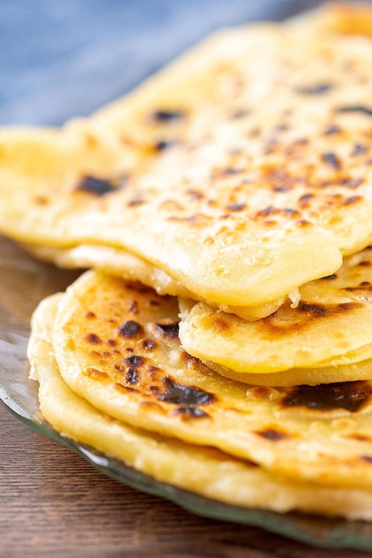 homemade paratha