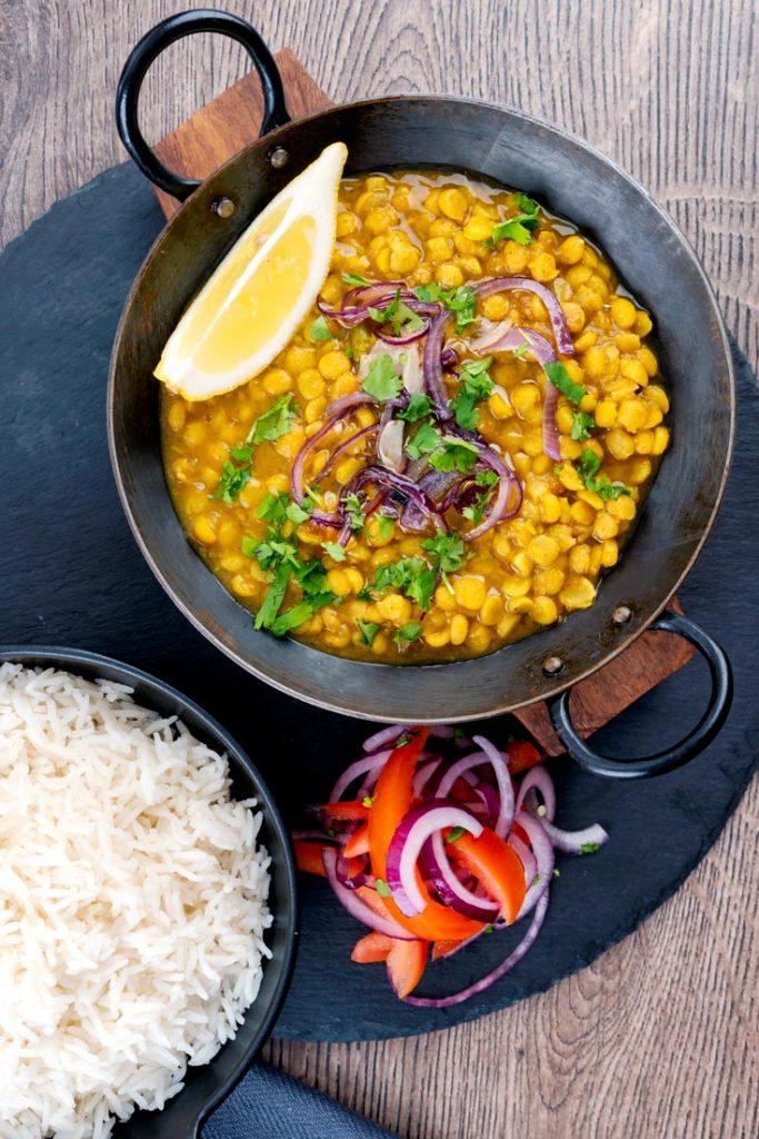 chana dal with rice