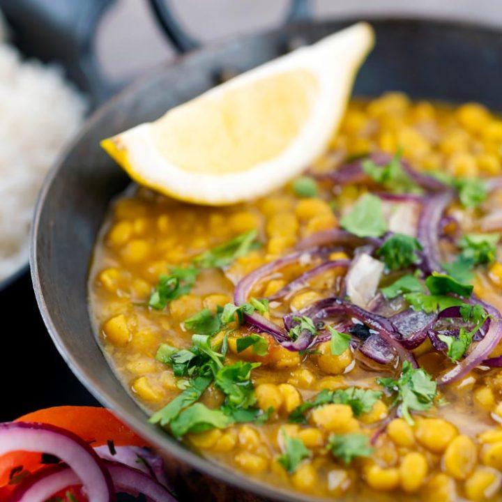 Chana Dal / Split Chickpea Dal Recipe