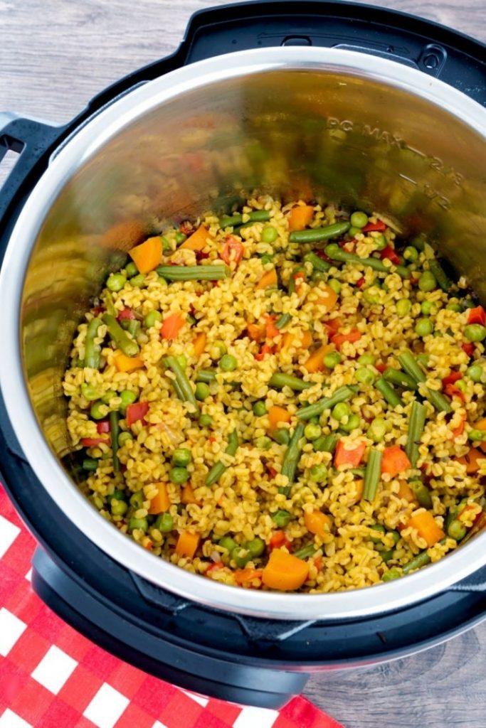 Daliya - Bulgur pilaf recipe