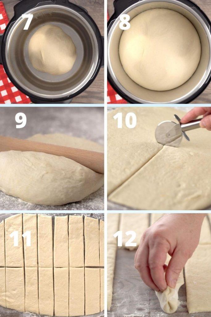 Olive garden breadsticks step by step instruction