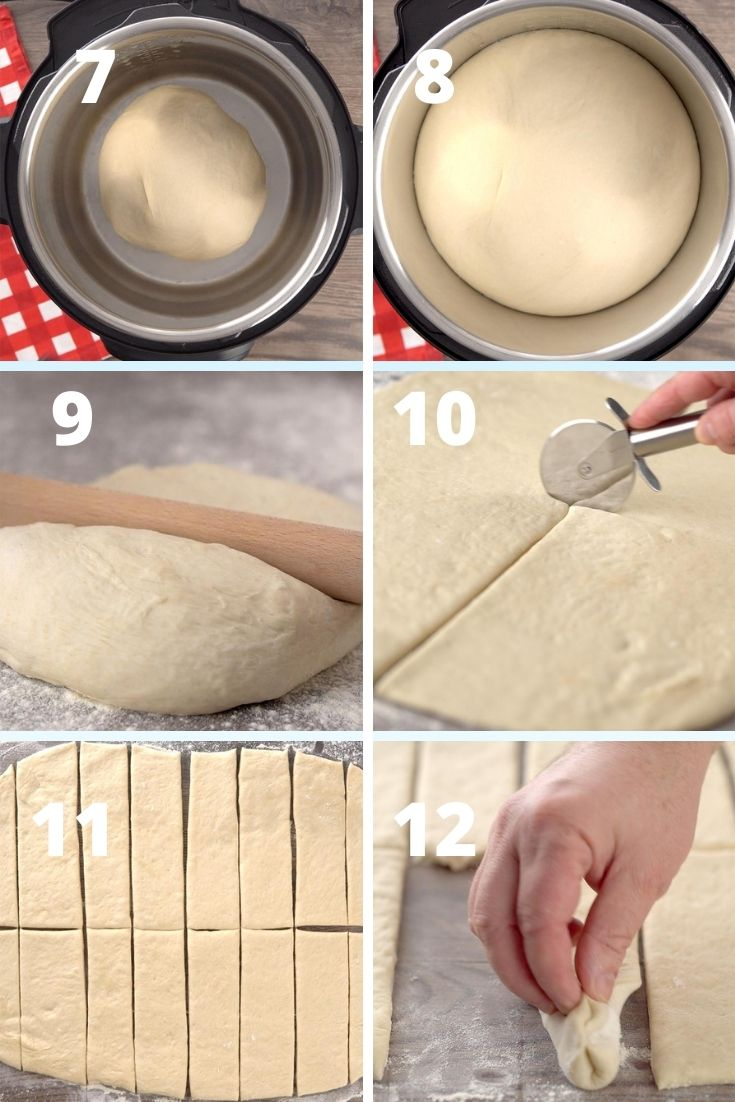 Olive garden breadsticks step by step instruction