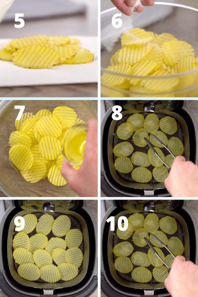 potato chips in air fryer