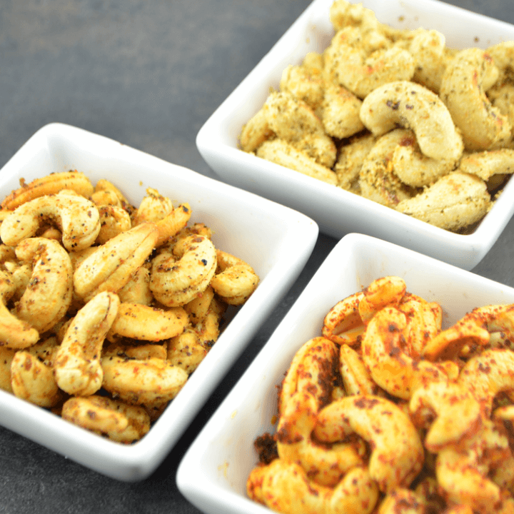 Roasted Cashew-nuts ( 3 Flavors )