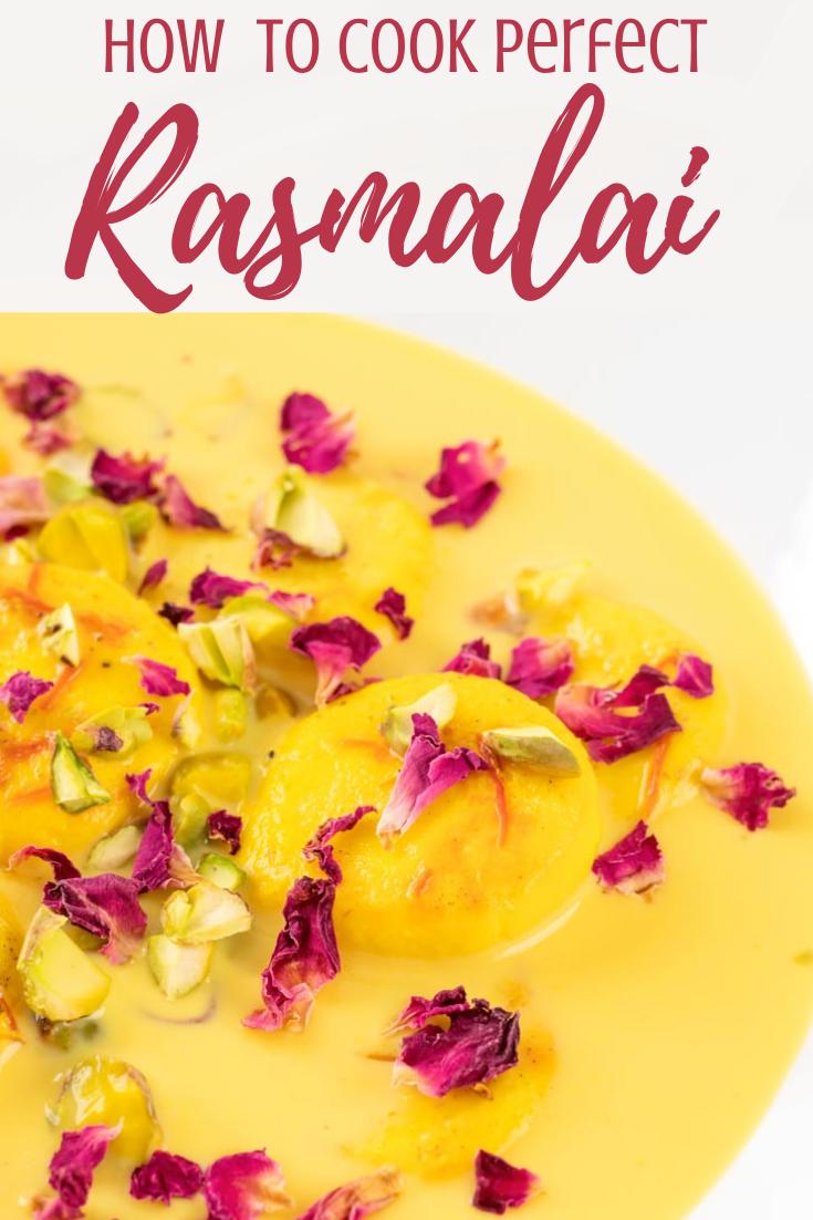 Homemade Rasmalai