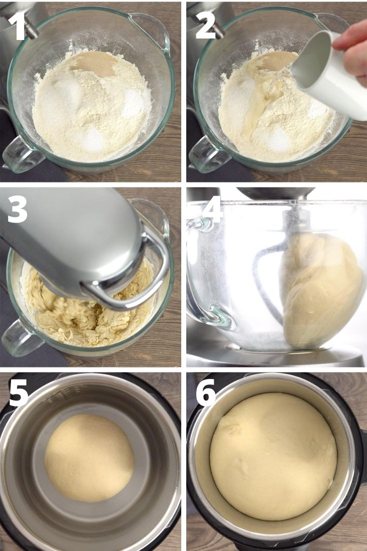 bao buns step by step instruction
