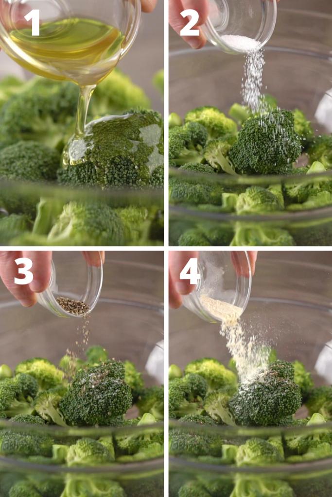 broccoli air fryer