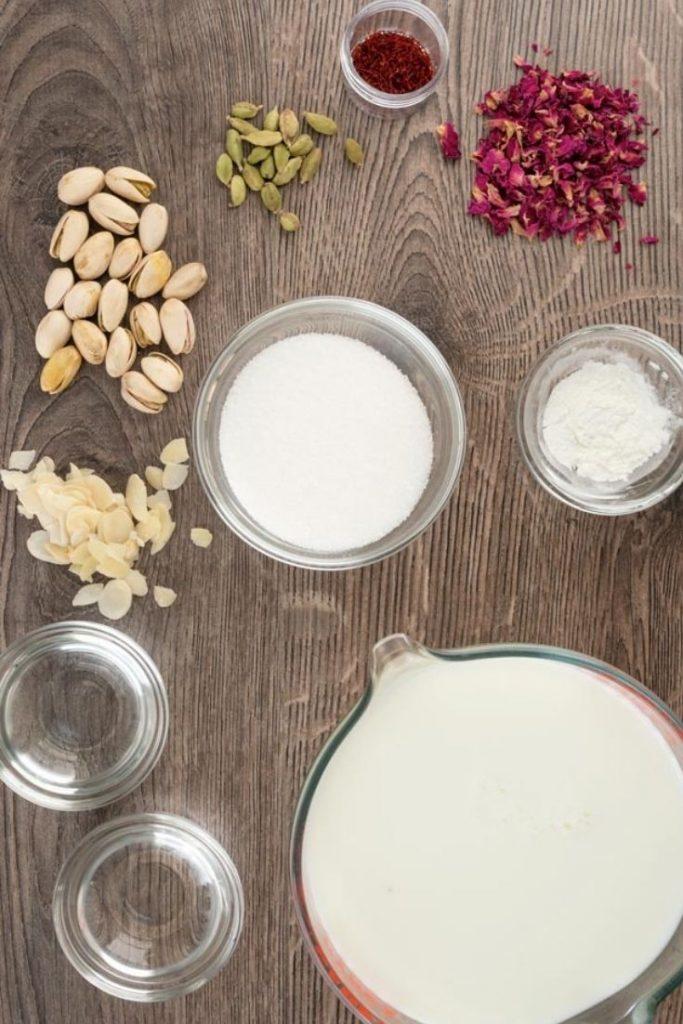 ingredients for rasmalai