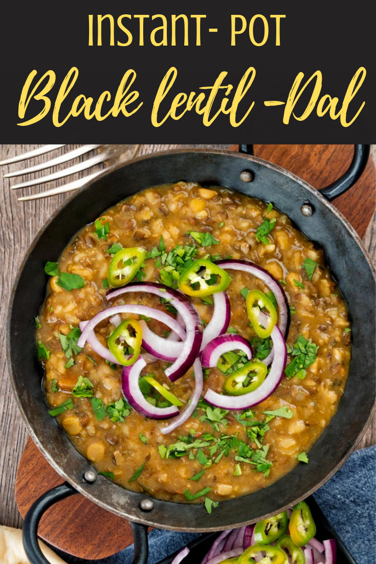 spicy urad dal- black lentil