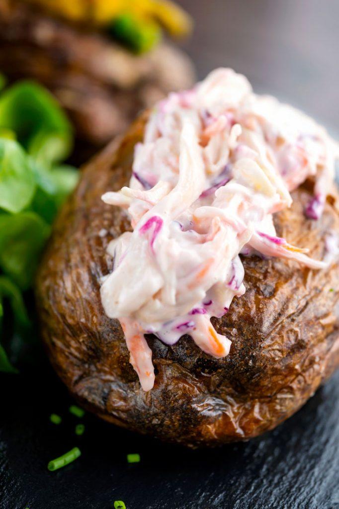 air fry baked potatoes