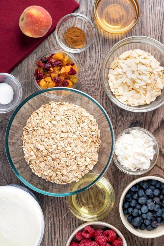 Easy Yogurt and Fruit Parfait Recipe