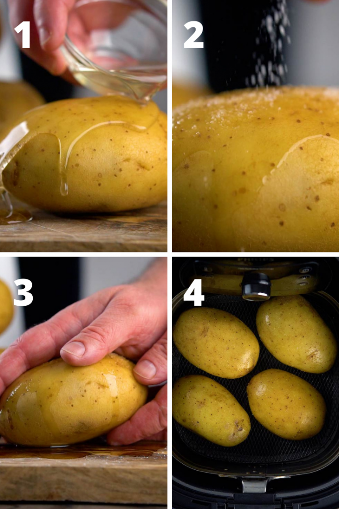 how to cook baked potatoes