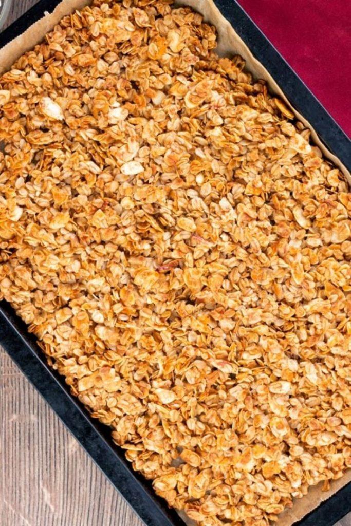 Air Fryer Homemade Granola Recipe