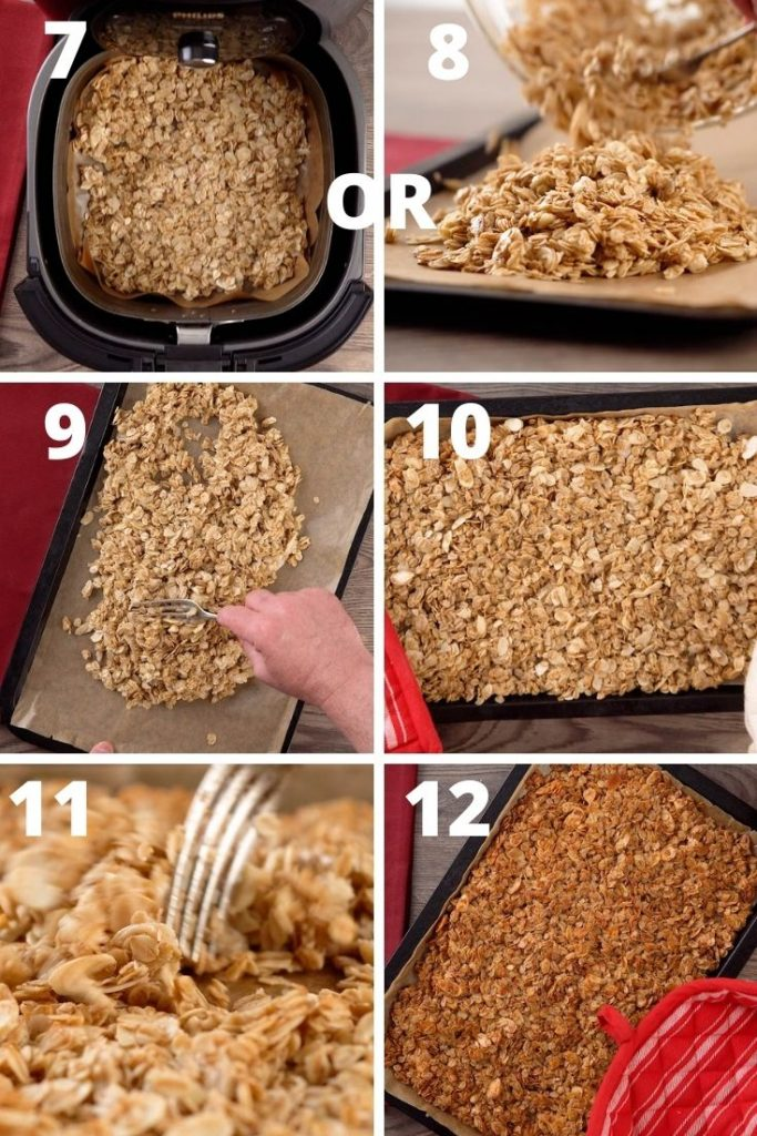 How to make air fryer granola instructions