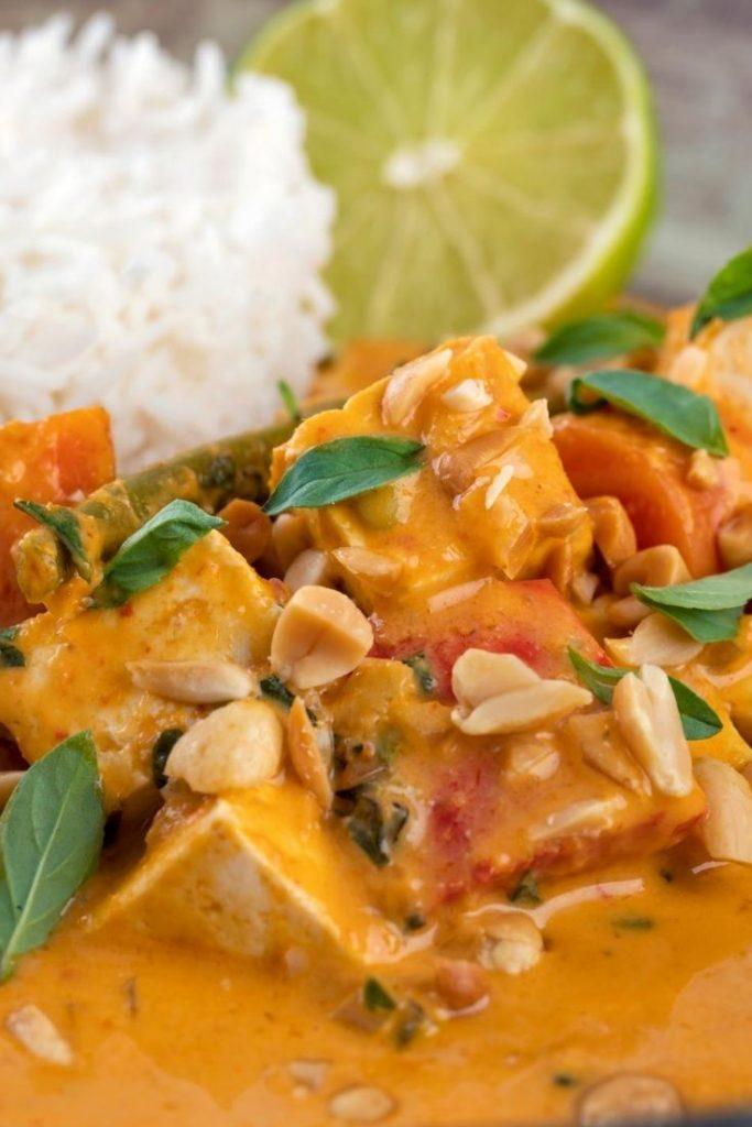 Thai panang curry , vegetable panang curry