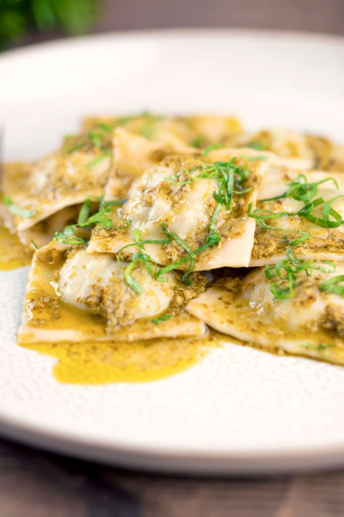 eggless ravioli recipe