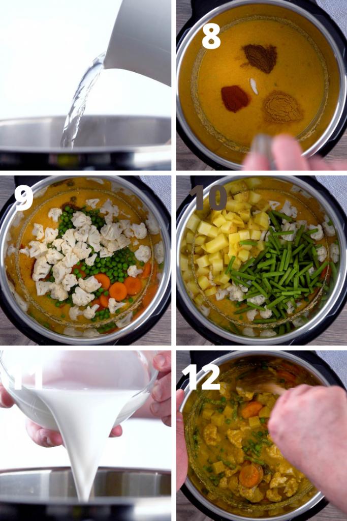 veggie korma recipe instructions