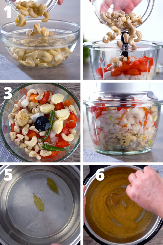 vegetable korma recipe instructions