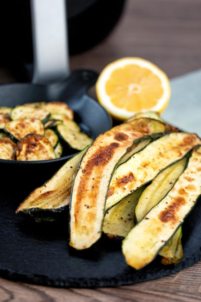 Low carb Air Fryer Zucchini